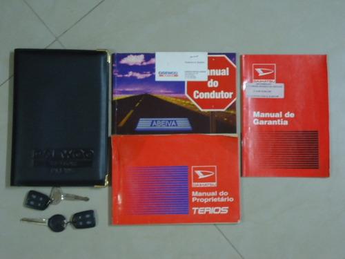 daihatsu terios1.3 sx 4x4 16v gasolina 4p manual 1998