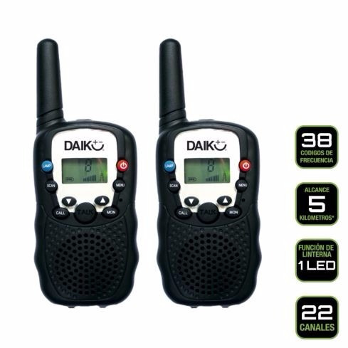 daiku radios intercomunicadores doble via telefonía