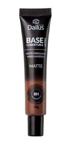 dailus base matte ultra cobertura 30g - 14 marrom escuro