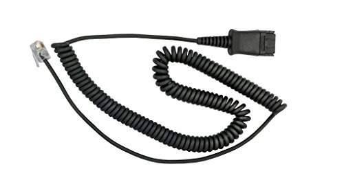 dailyheadset rj9 corded phone headset auriculares para con
