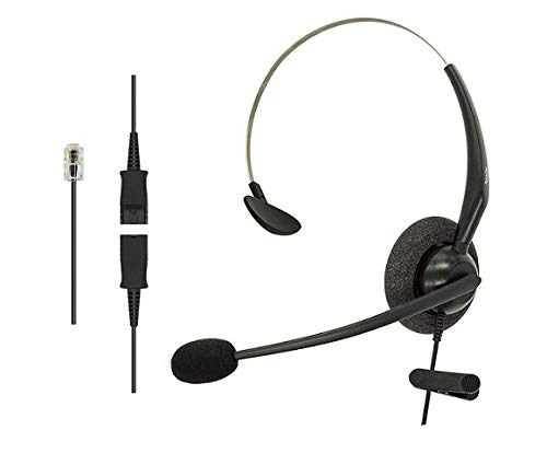 dailyheadset rj9 nc mono office telefono con cable auricular