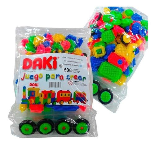daki 508 bloques caras ruedas 112 piezas material didáctico