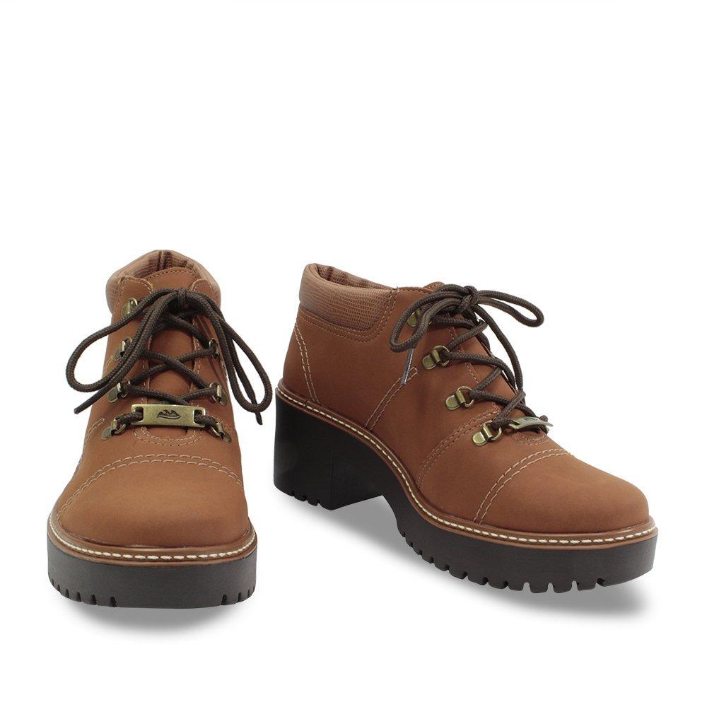 41775b0cdd Sapato Bota Dakota Cano Curto Feminino Tratorada B9924marrom - R  199