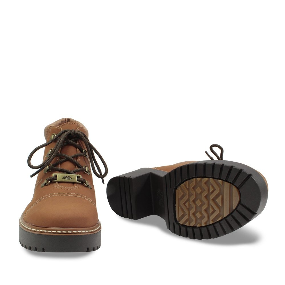 cc47251918 Sapato Bota Dakota Cano Curto Feminino Tratorada B9924marrom - R ...
