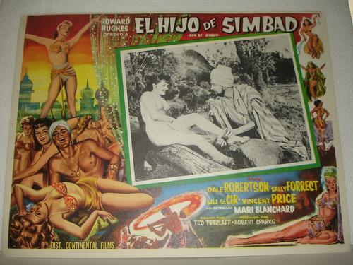 dale robertson, el hijo de simbad, cartel de cine