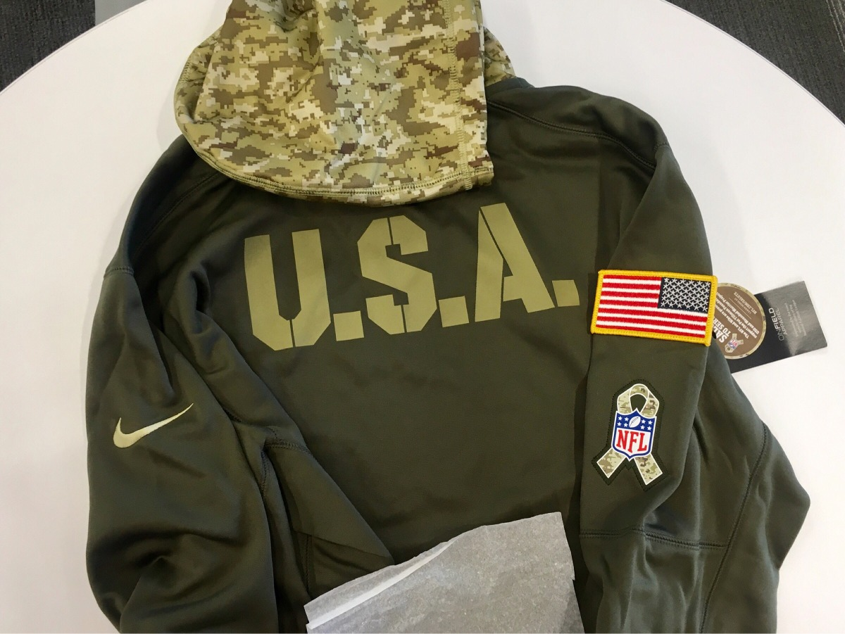 info for 3a928 8ce7e Dallas Cowboys Nike Nfl Salute To Service Hoodie Sudadera