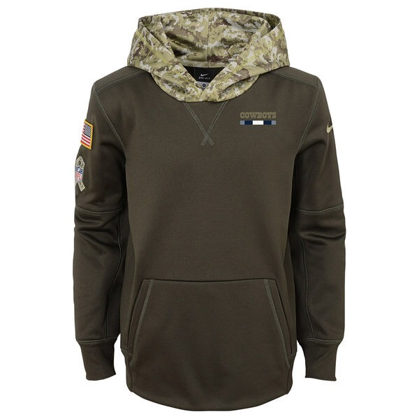 info for 59428 9babd Dallas Cowboys Nike Nfl Salute To Service Hoodie Sudadera