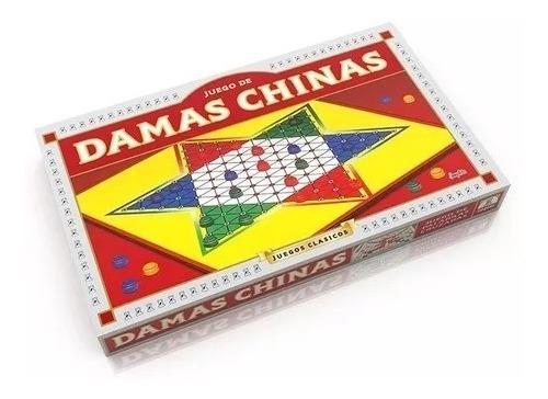 damas chinas juego de mesa original implas