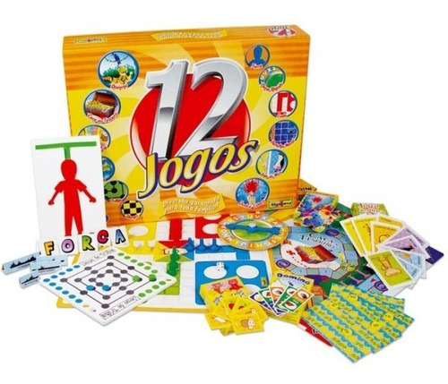 damas, trilha, dominó, batalha naval... 12 jogos algazarra.
