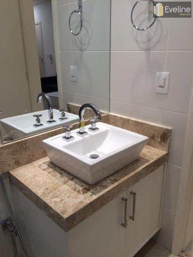 damebe uno residence - loft para alugar mobiliado - 43m² - mogi - a850