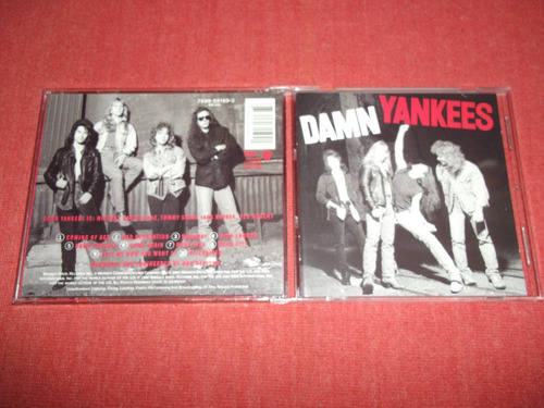 damn yankees - homonimo cd usa ed 1990 mdisk