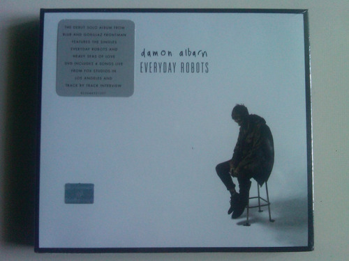 damon albarn everyday robots cd / dvd nuevo blur gorillaz