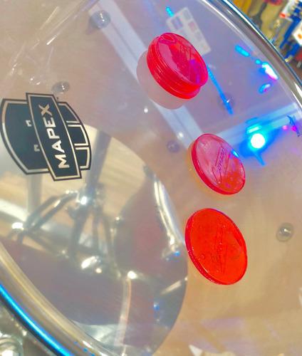 damper pads moongel sordinas de gel p/ batería concert drums