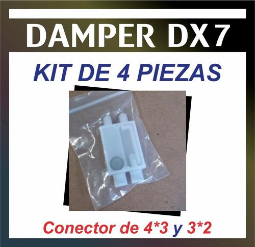 damper para dx7/ kit de 4 piezas