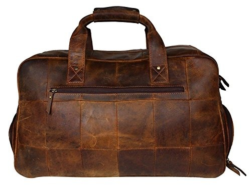 Damun Leather Duffel Bags For Women Weekender Hecho A