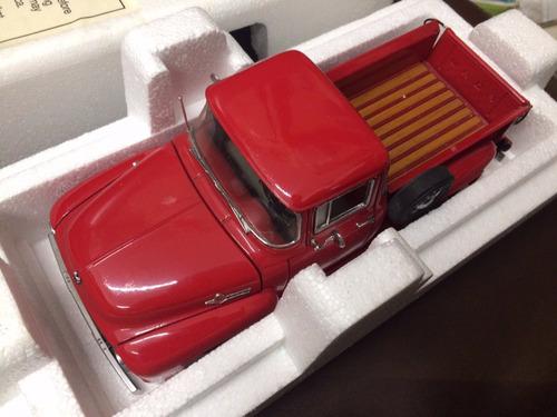 danbury mint 1/24 camioneta 1956 ford f-100 con caja