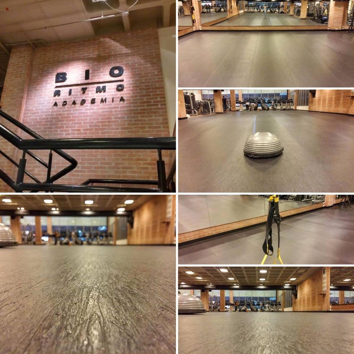 Dan A Ballet Jazz Crossfit Piso Emborrachado Manta Carpete R 56  -> Tapete Para Sala De Pilates