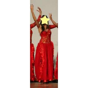 d302305b6 Roupa De Dança Do Ventre Vermelha Com Dourado - Calçados