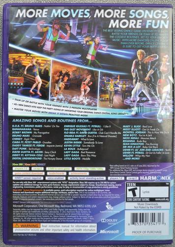 dance central xbox 360