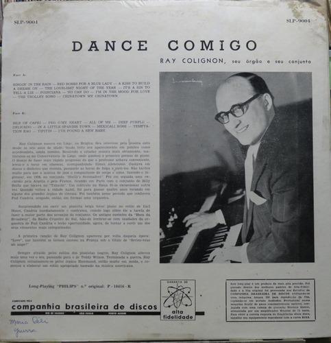dance comigo  ray colignon seu orgão conjunto lp philips