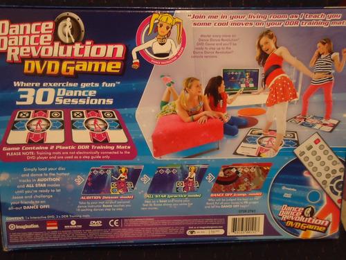 dance dance revolution dvd juego