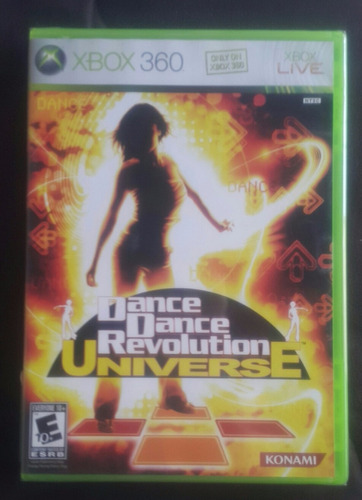 dance dance revolution - universe / xbox 360