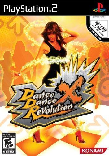 dance dance revolution x - playstation 2