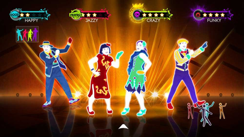 dance wii con juego just