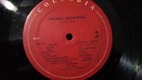 dancehall reggaespañol lp vinilo reggae