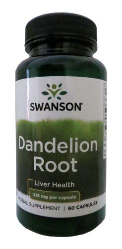 dandelion root diente de leon 515mg s - unidad a $6