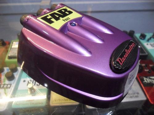danelectro pedal para guitarra electrica fab fuzz