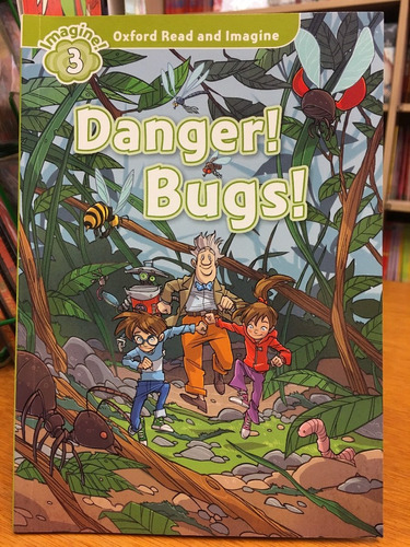 danger ! bugs ! - oxford read and imagine level 3 sin cd