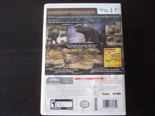 dangerous hunts 2011 nintendo wii y wii u