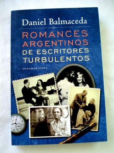 daniel balmaceda, romances argentinos de escritores c08 j