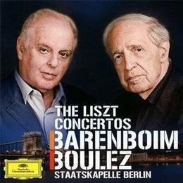 daniel barenboim pierre boulez the liszt concertos cd nuevo