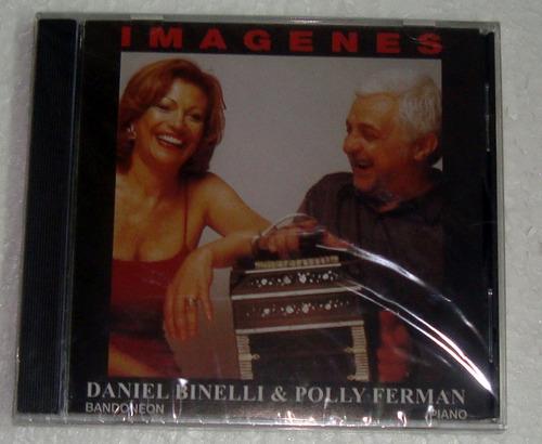 daniel binelli y polly ferman imagenes cd sellado