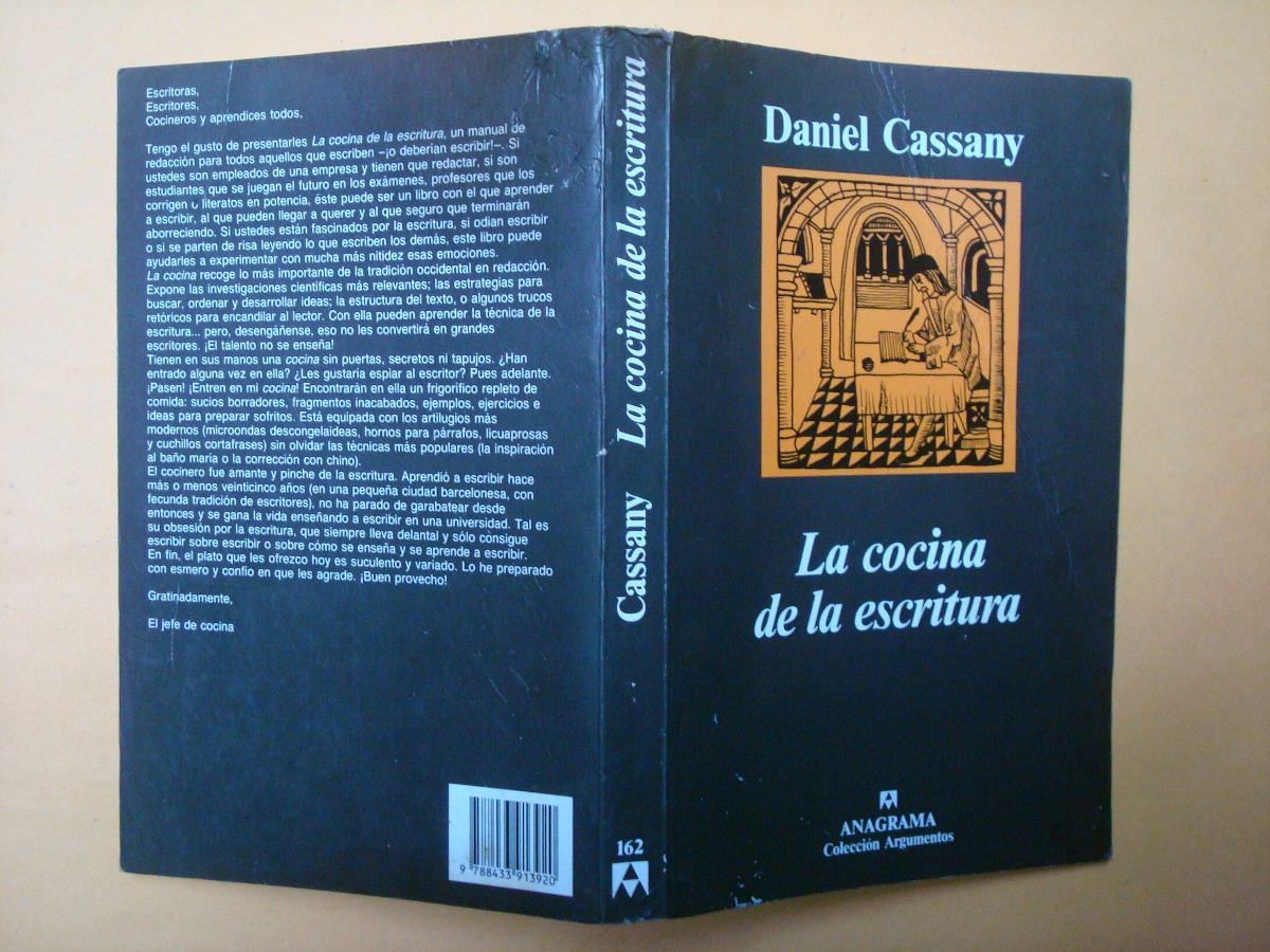 Daniel cassany la cocina de la escritura anagrama - La cocina de la escritura ...