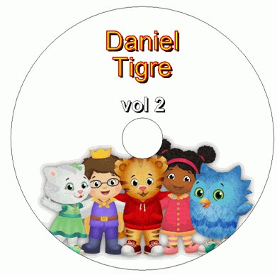 daniel o tigre 1a e 2a temporada (8 dvds)
