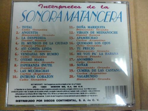 daniel santos celio gonzalez nelpinedo bienvenido granda  cd
