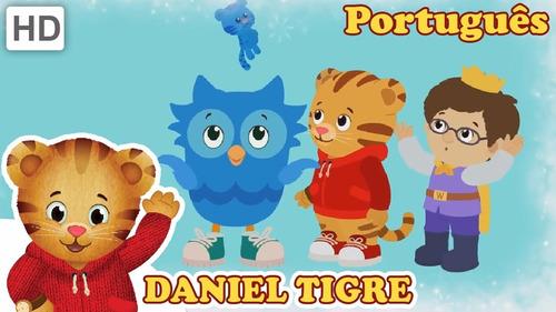 daniel tigre desenho dublado dvd português frete grátis