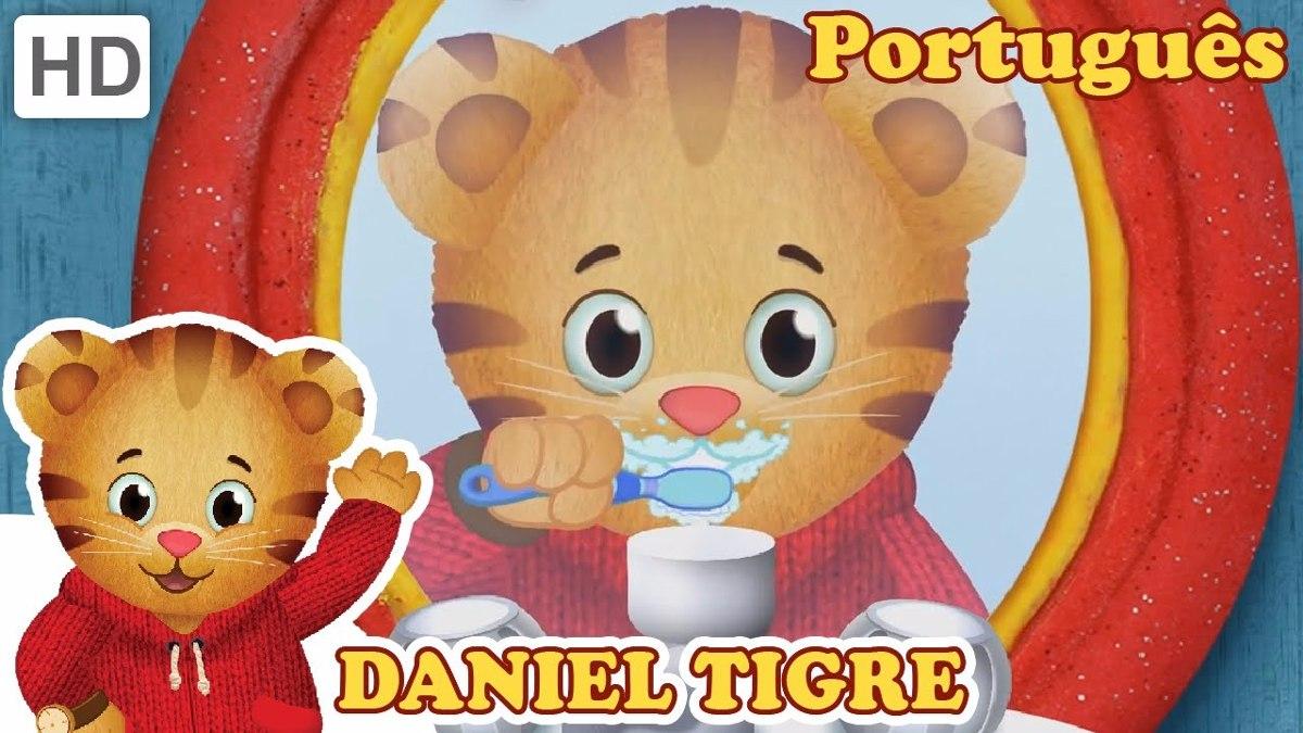Daniel Tigre Em Portugues 1 Dvd Lancamento R 22 90 Em Mercado