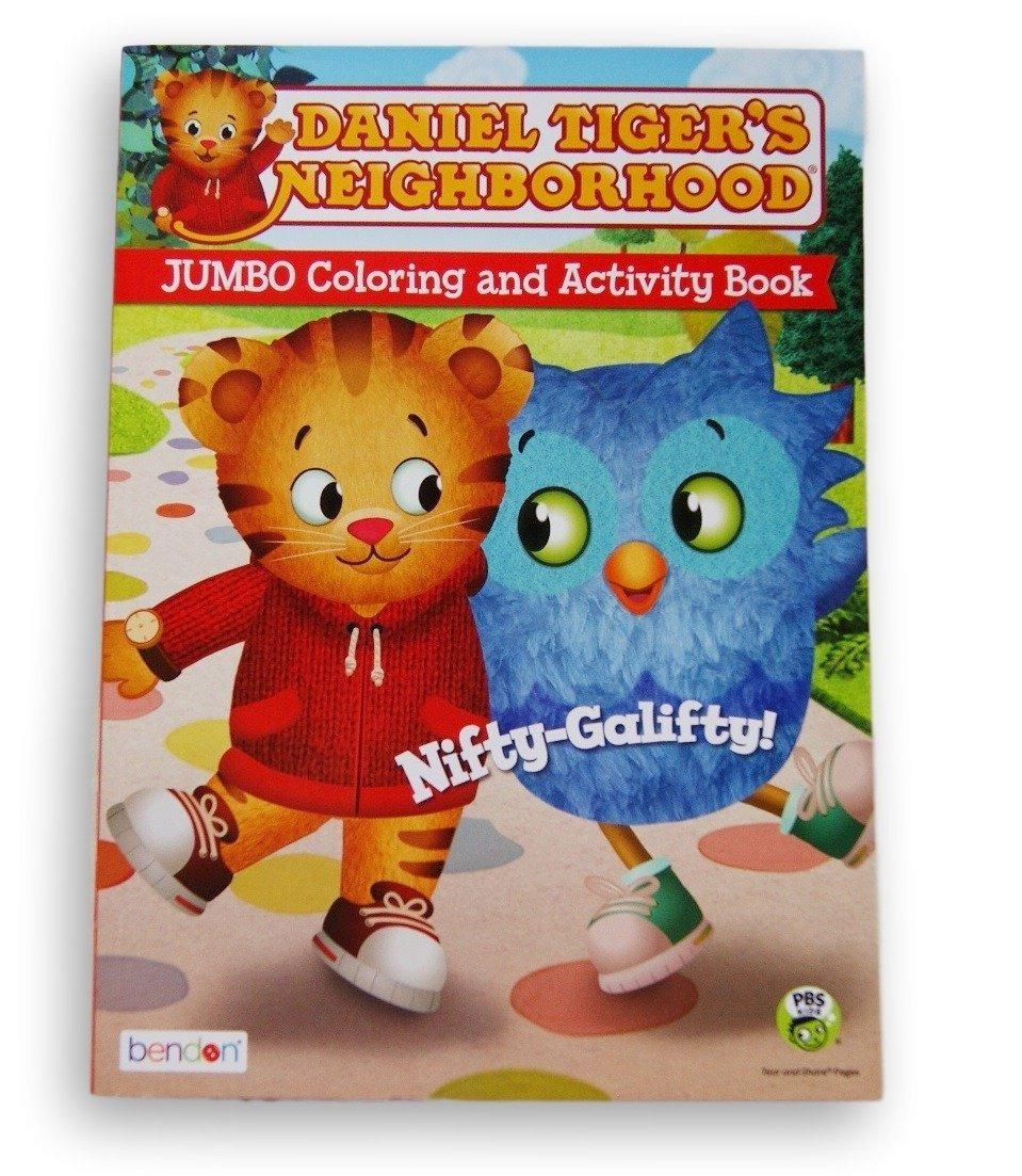 Daniel Tigres Barrio Colorear Jumbo Y Libro De Actividades C ...