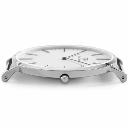 daniel wellington | classic 40mm ( st. mawes ) silver