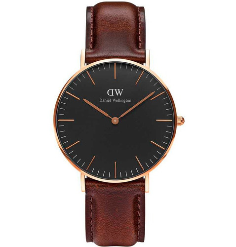 daniel wellington classic black bristol 36 mm dw00100137