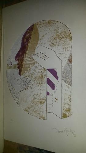 daniel zelaya serigrafia firmada y numerada