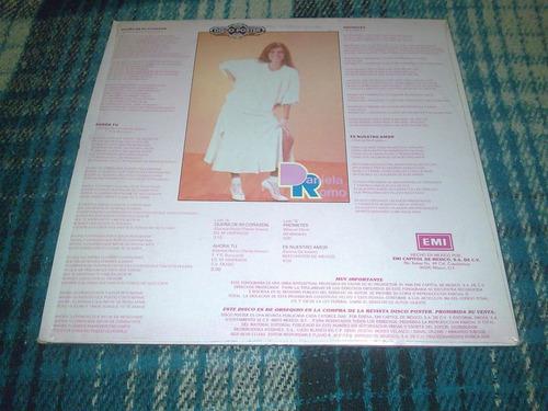 daniela romo disco lp titulado disco poster en buen estado