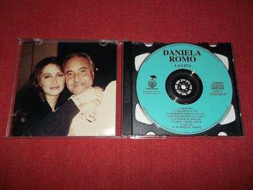daniela romo - la cita cd doble imp ed 1994 mdisk