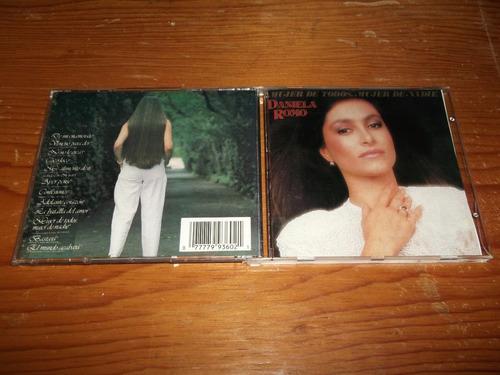 daniela romo  mujer de todos mujer de nadie cd ed 1993 mdisk