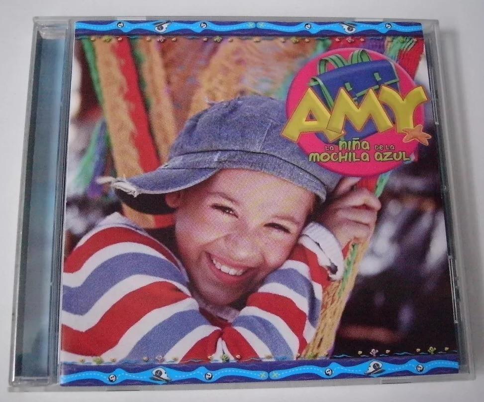 Amy A Mochila Azul danna paola amy la niña de la mochila azul cds 1 y 2 - $ 449.00