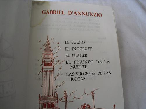 d'annunzio (obras inmortales)